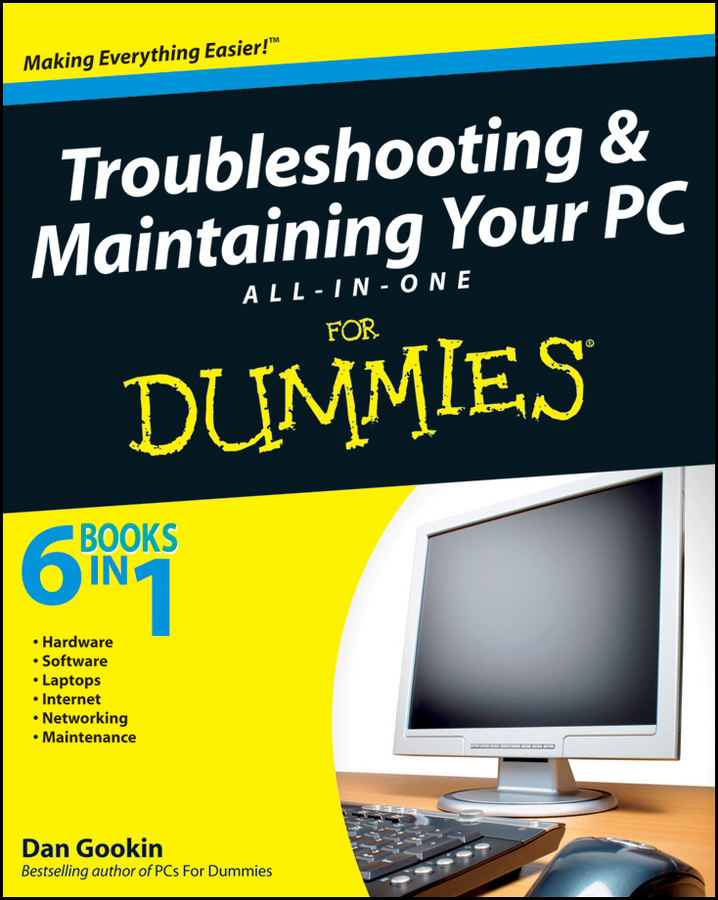 Купить книгу Troubleshooting and Maintaining Your PC All-in-One Desk Reference For Dummies, автора Dan  Gookin