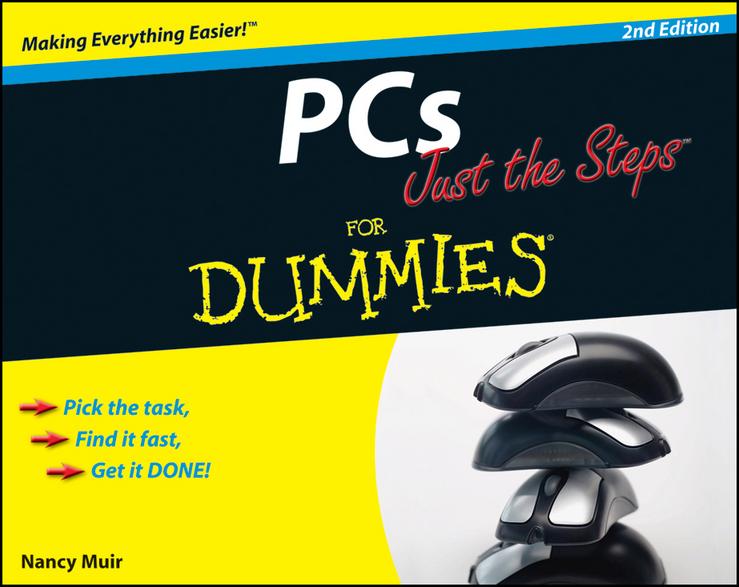 Купить книгу PCs Just the Steps For Dummies, автора