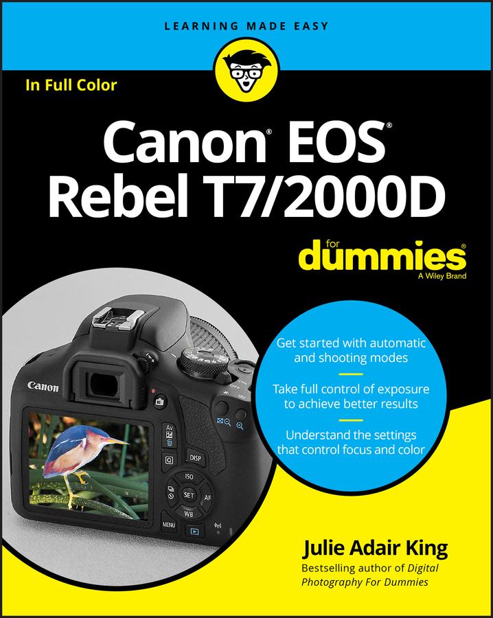 Купить книгу Canon EOS Rebel T7/2000D For Dummies, автора