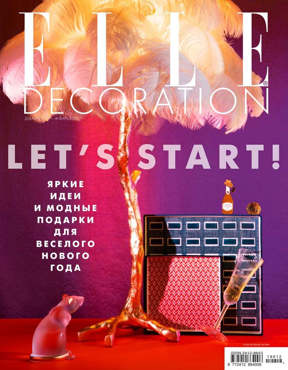 Купить книгу Elle Decor 12-2019-01-2020, автора