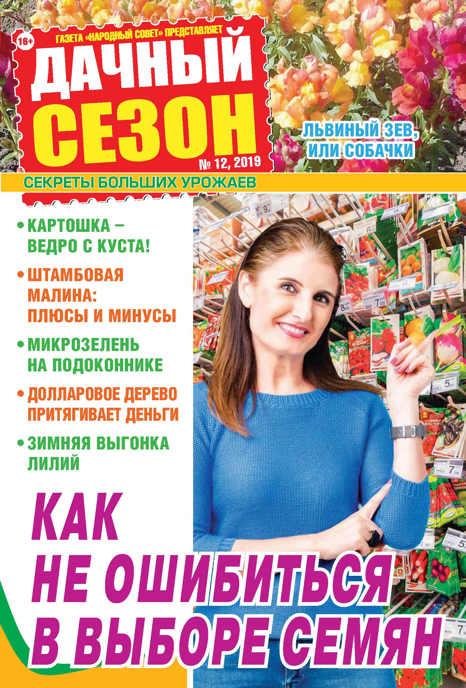 Купить книгу Дачный сезон №12/2019, автора
