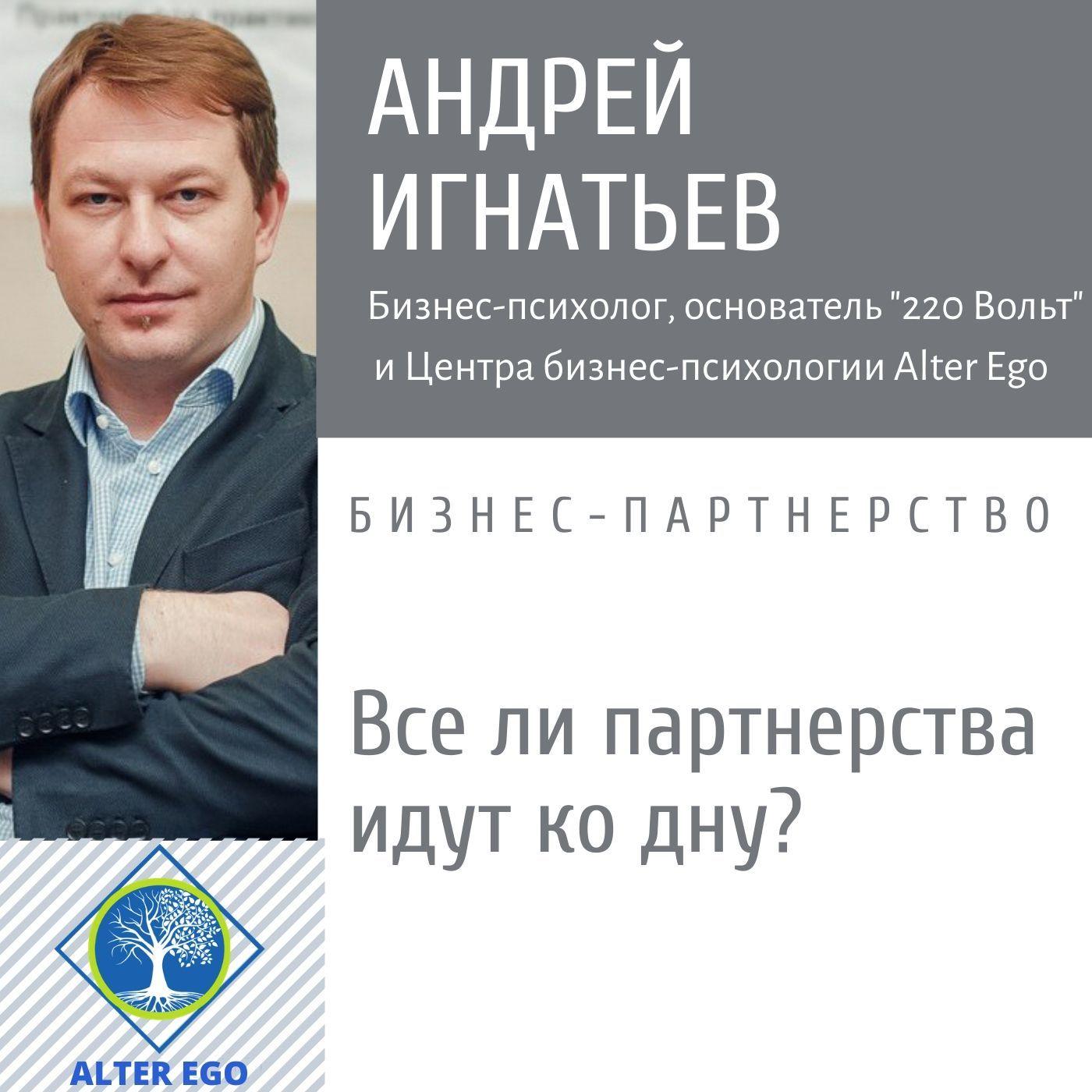 Купить книгу Все ли бизнес-партнерства идут ко дну?, автора Андрея Игнатьева