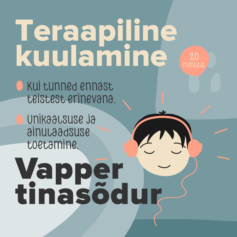 Купить книгу Vapper tinasõdur, автора Teraapiline Kuulamine