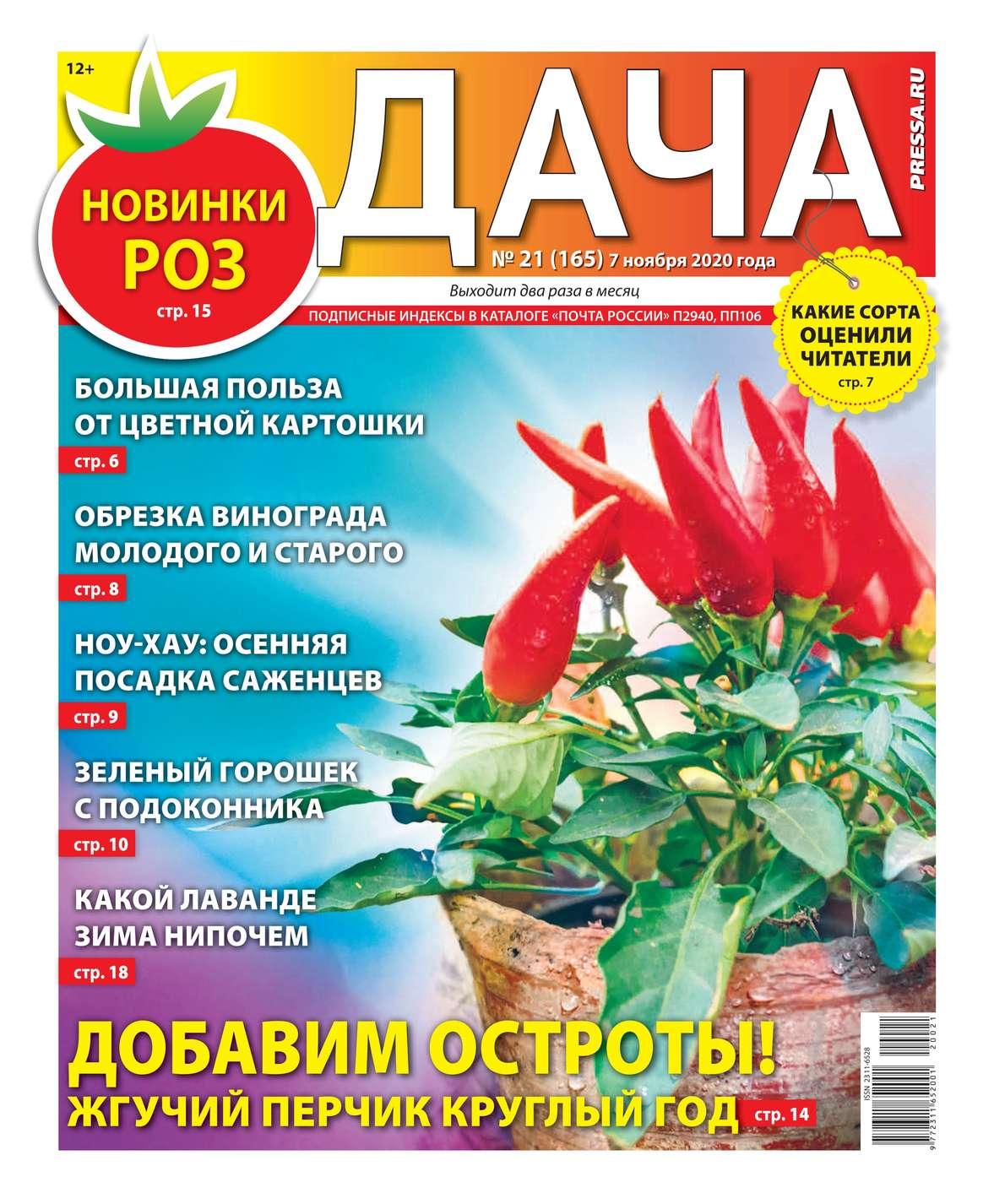 Купить книгу Дача Pressa.ru 21-2020, автора
