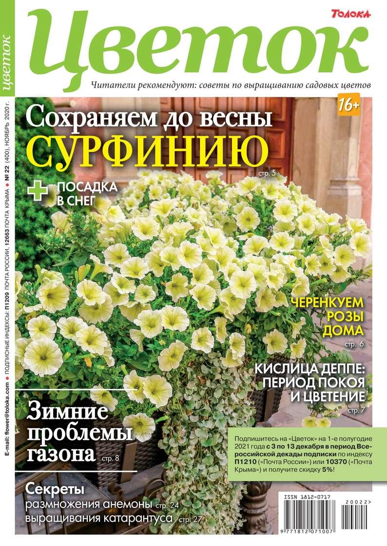 Купить книгу Цветок 22-2020, автора