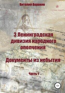 Виталий Воронин - 3 Ленинградская дивизия народного ополчения. Документы из небытия. Часть 1