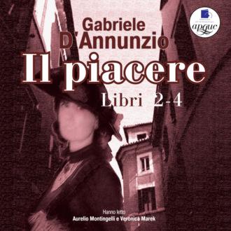 Аудиокнига Il Piacere. Libro 2-4
