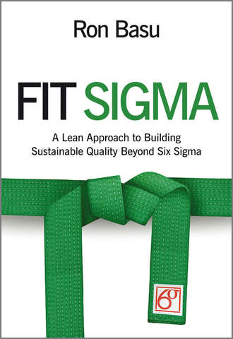 Купить Fit Sigma. A Lean Approach to Building Sustainable Quality Beyond Six Sigma