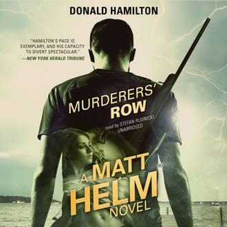 Аудиокнига Murderers' Row