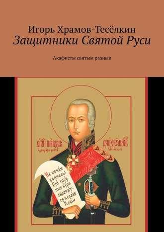 Купить Защитники Святой Руси. Акафисты святым разные