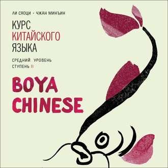 Аудиокнига BOYA CHINESE Курс китайского языка. Средний уровень. Ступень 2. МР3