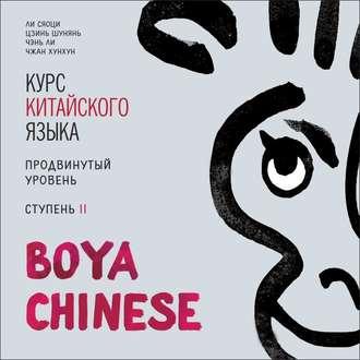 Аудиокнига BOYA CHINESE Курс китайского языка. Продвинутый уровень. Ступень 2. МР3