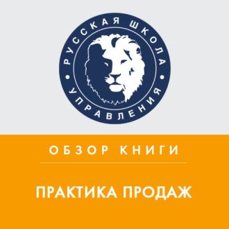 Аудиокнига Обзор книги Р. Шнаппауфа «Практика продаж»