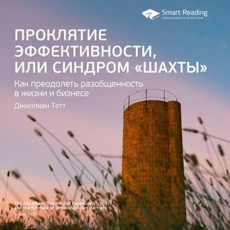 Аудиокнига Краткое содержание книги: Проклятие эффективности, или Синдром «шахты». Джиллиан Тетт