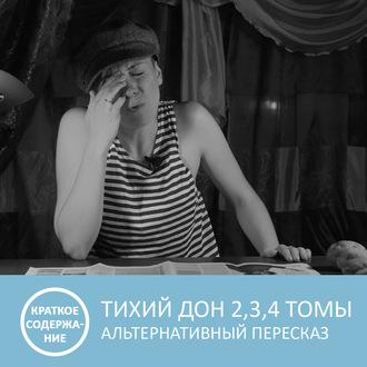 Аудиокнига Тихий Дон — Том 2, 3, 4 — краткое содержание
