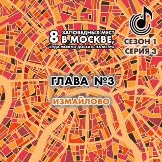 Аудиокнига 8 заповедных мест в Москве, куда можно доехать на метро. Глава 3. Измайлово