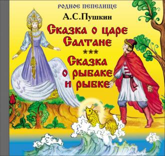 Аудиокнига Сказка о царе Салтане. Сказка о рыбаке и рыбке