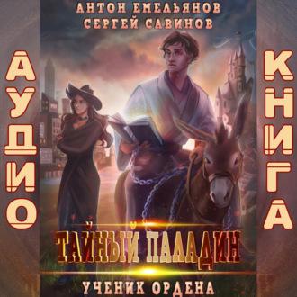 Аудиокнига Тайный паладин: Ученик ордена