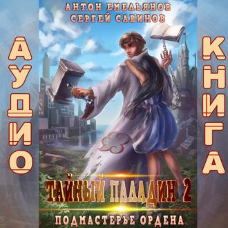 Аудиокнига Тайный паладин 2. Подмастерье ордена