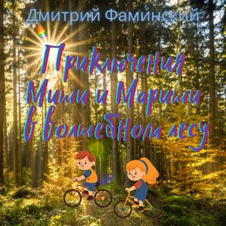 Аудиокнига Приключения Миши и Мариши в волшебном лесу