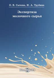 Экспертиза молочного сырья