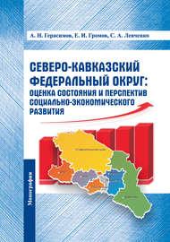 Северо-Кавказский федеральный округ: оценка состояния и перспектив социально-экономического развития