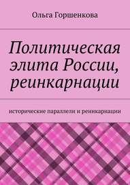 Политическая элита России, реинкарнации. Исторические параллели и реинкарнации