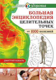 Книга Большая энциклопедия целительных точек от 1000 болезней