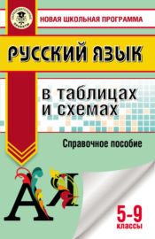 ОГЭ. Русский язык в таблицах и схемах для подготовки к ОГЭ