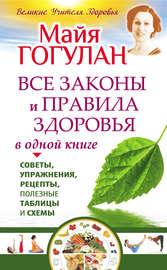 Все законы и правила здоровья в одной книге