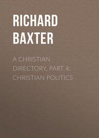 A Christian Directory, Part 4: Christian Politics