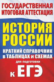 История России. Краткий справочник в таблицах и схемах для подготовки к ЕГЭ