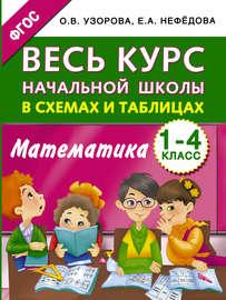 Весь курс начальной школы в схемах и таблицах. Математика. 1-4 классы