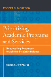 Prioritizing Academic Programs and Services. Reallocating Resources to Achieve Strategic Balance, Revised and Updated