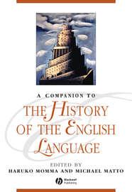 A Companion to the History of the English Language