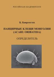 Панцирные клещи Монголии (Acari: Oribatida): определитель