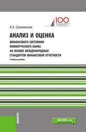 Анализ и оценка финансового состояния коммерческого банка на основе международных стандартов финансовой отчетности