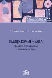 Имидж коммерсанта: правовое регулирование и способы охраны