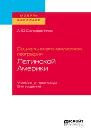 Социально-экономическая география Латинской Америки 2-е изд., пер. и доп. Учебник и практикум для академического бакалавриата