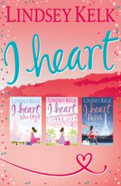 Lindsey Kelk 3-Book 'I Heart' Collection: I Heart New York, I Heart Hollywood, I Heart Paris