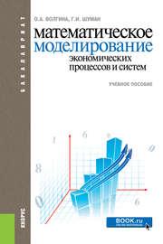 Математическое моделирование экономических процессов и систем