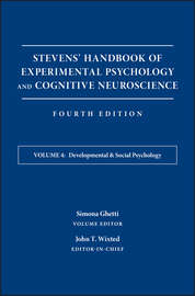 Stevens' Handbook of Experimental Psychology and Cognitive Neuroscience, Developmental and Social Psychology