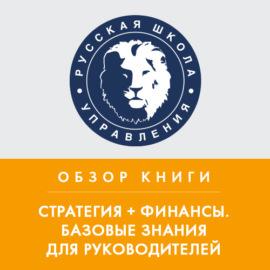 Обзор книги В. Савчука «Стратегия + финансы. Базовые знания для руководителей»