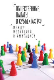Общественные палаты в субъектах РФ: между медиацией и имитацией