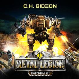 Scorpion's Fury - Metal Legion, Book 1 (Unabridged)