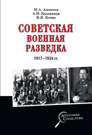 Советская военная разведка 1917-1934 гг.