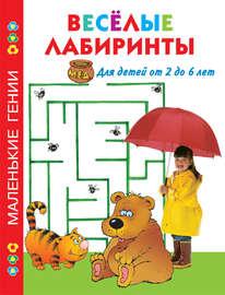 Весёлые лабиринты. Для детей от 2 до 6 лет