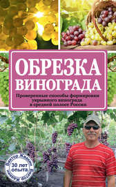 Книга Обрезка винограда. Проверенные способы формировки укрывного винограда в средней полосе России