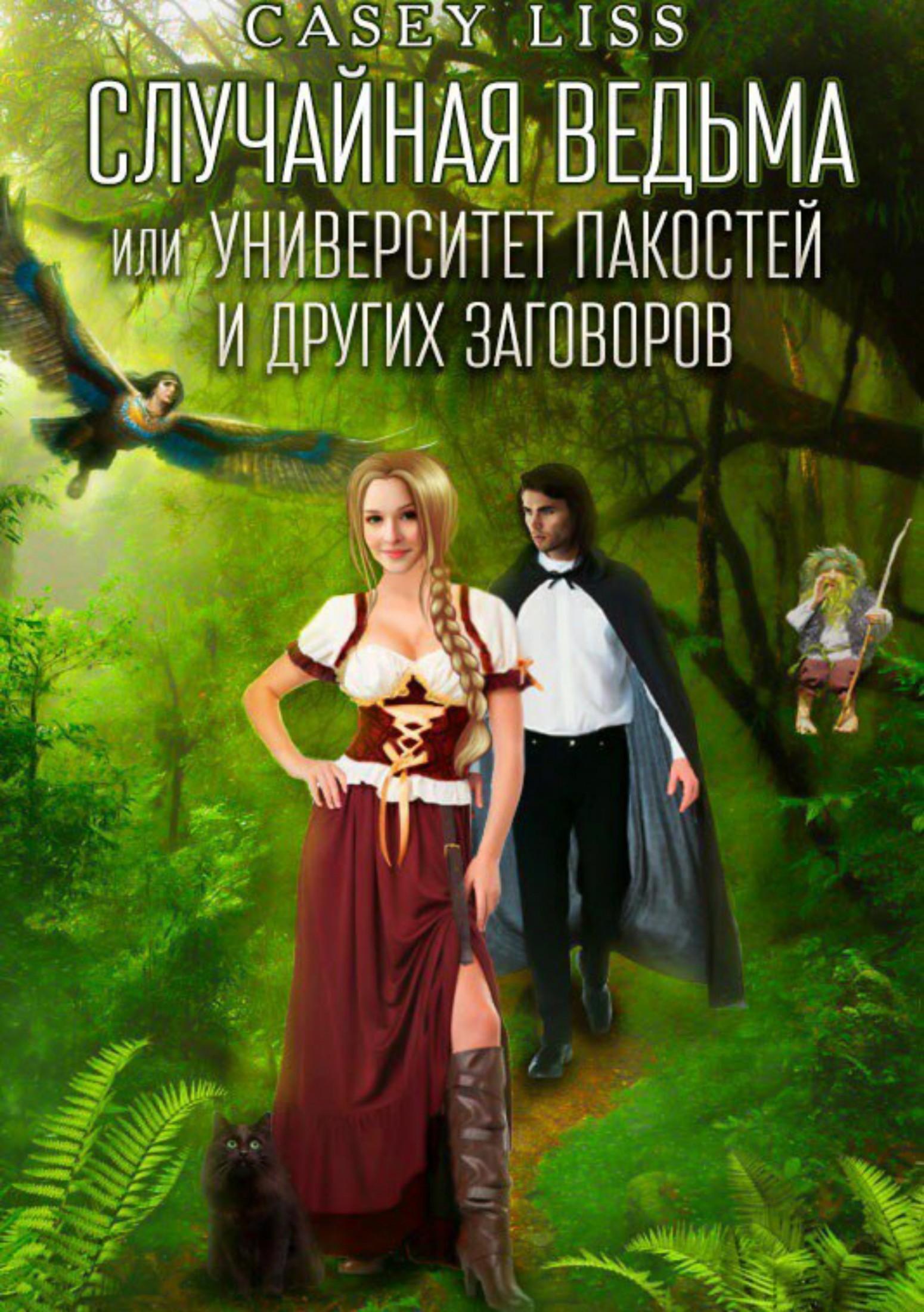 Книга Случайная ведьма или Университет Заговоров и других Пакостей