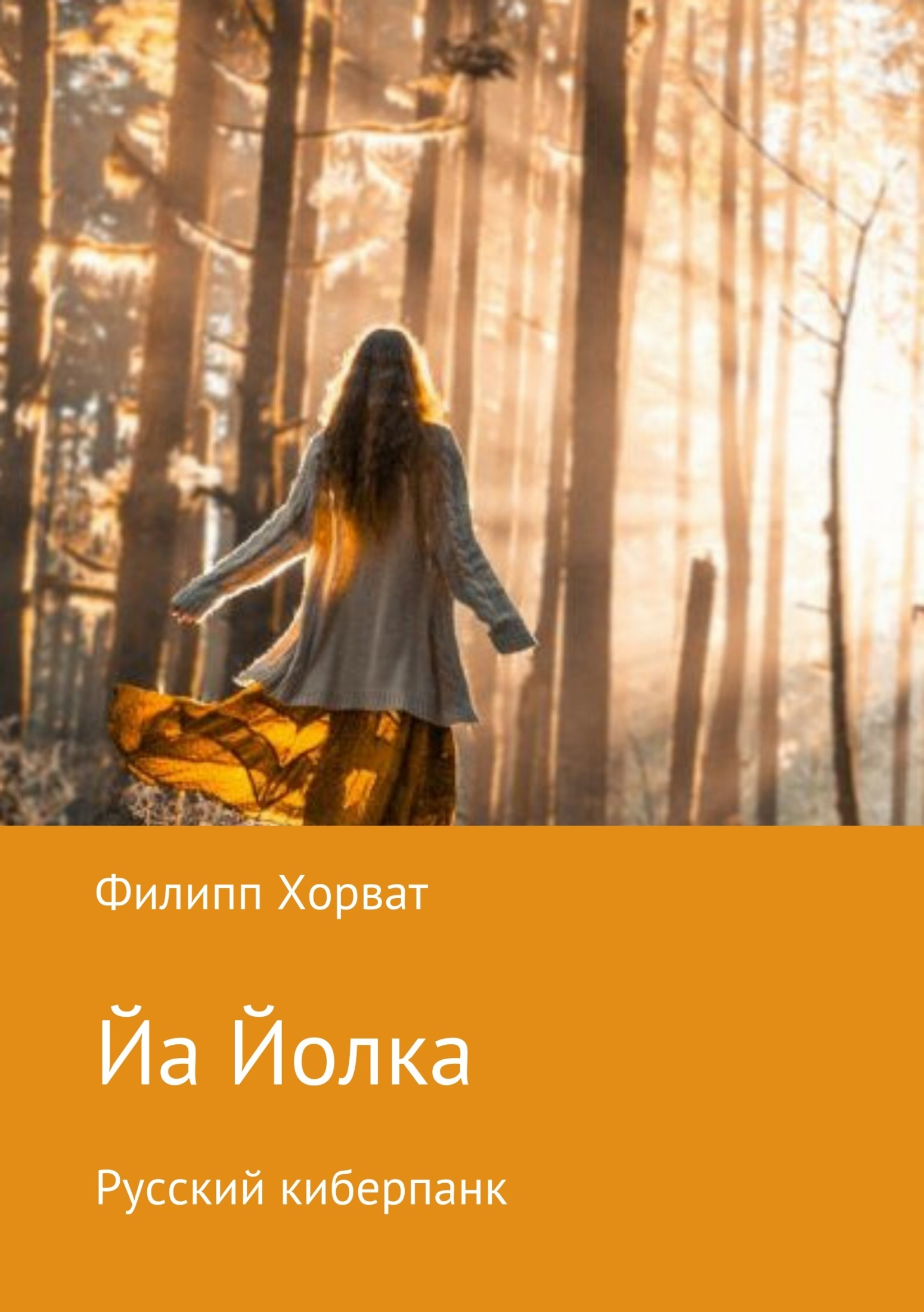 Книга Йа Йолка. Русский киберпанк
